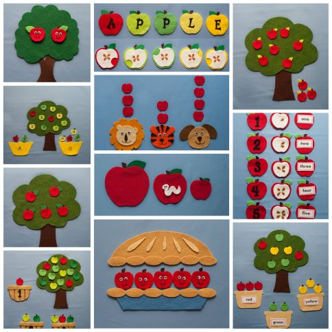 Apple Harvest Felt Board Pattern Book
